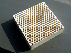 JINTAI Extruded Honeycomb Ceramic Foundry Casting Filter Slices